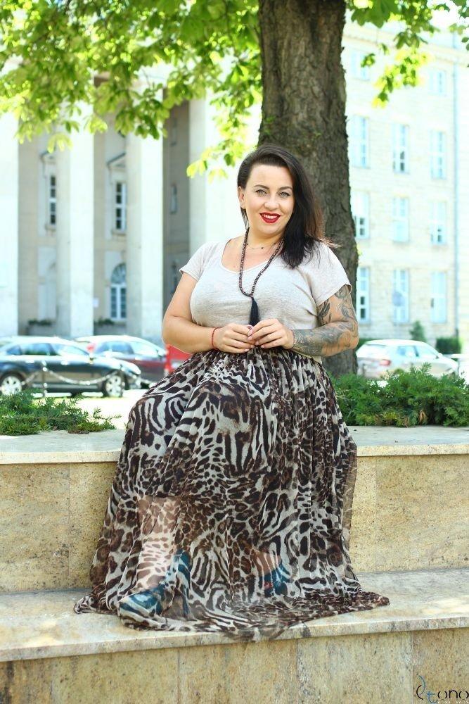 Skirt VIMMI Plus Size Design 2