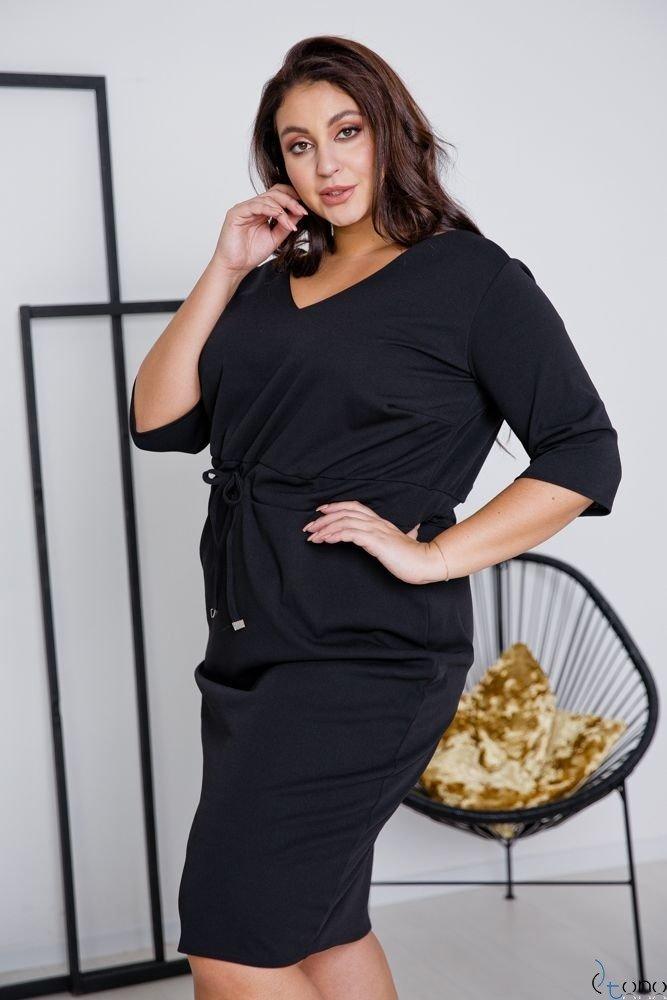 Black Dress ELMIRA Plus Size