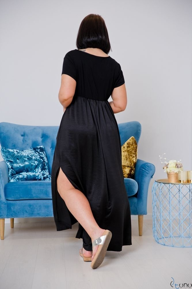 Black Dress FASIONA Plus Size