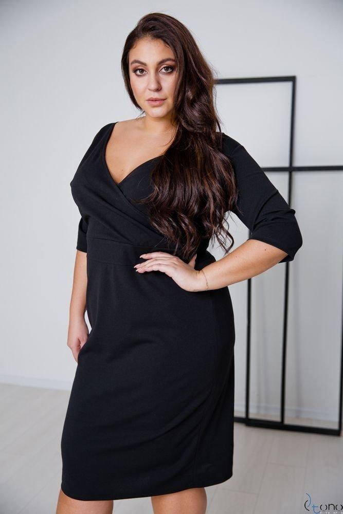 Black Dress GASPAR Plus Size
