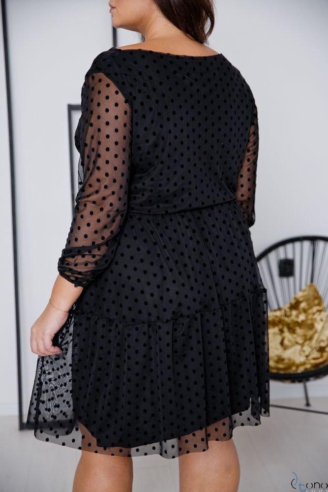 Black Dress MATTIA Plus Size