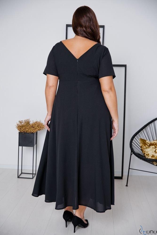 Black Dress MIRIAM Plus Size
