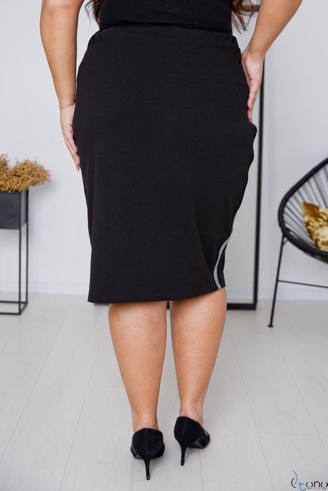 Black Skirt ADELLA Plus Size
