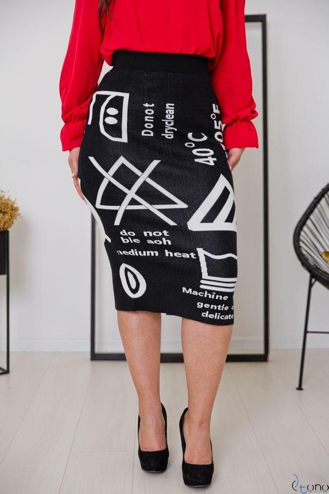 Black Skirt FACTOR Plus Size