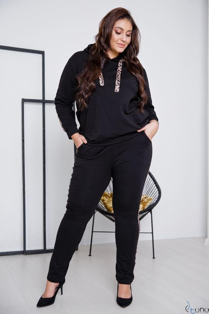 Black Trousers COLECT Plus Size