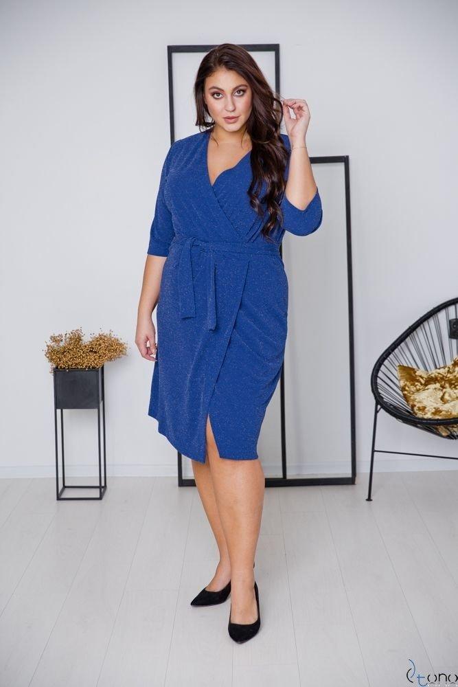 Cornflower Dress SOMIER Plus Size
