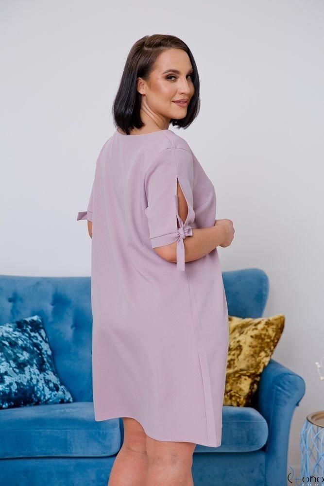 Lilac Dress SAFANA Plus Size