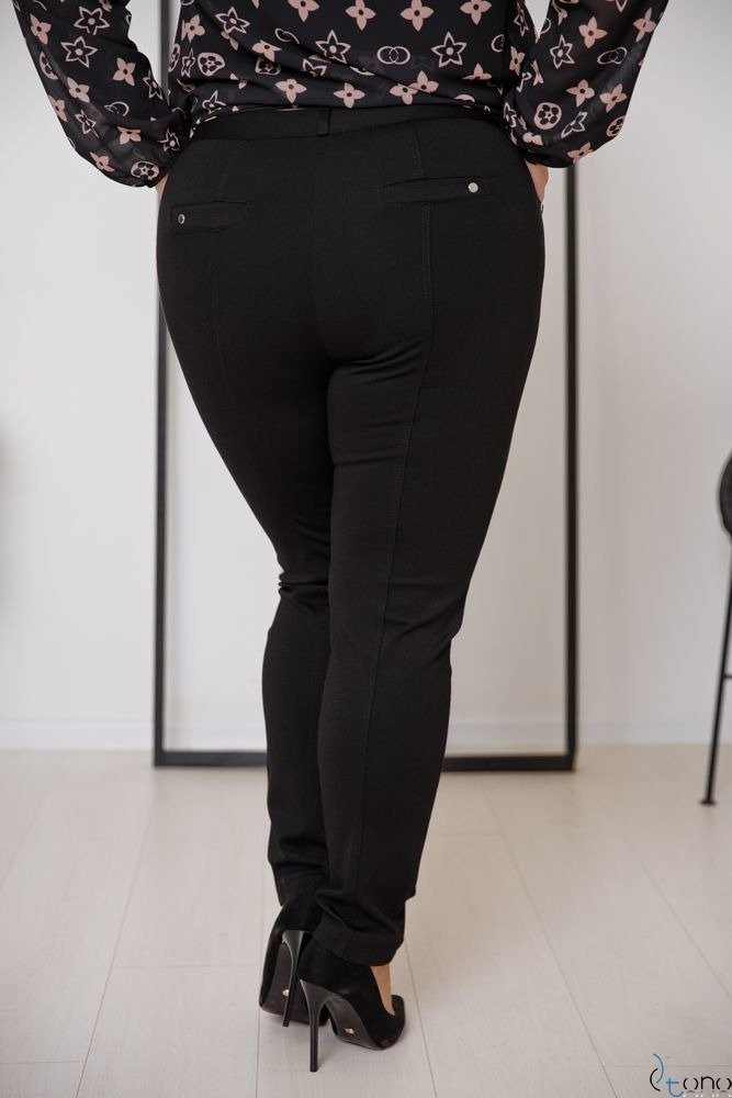 Black Trousers MIRELLA Plus Size