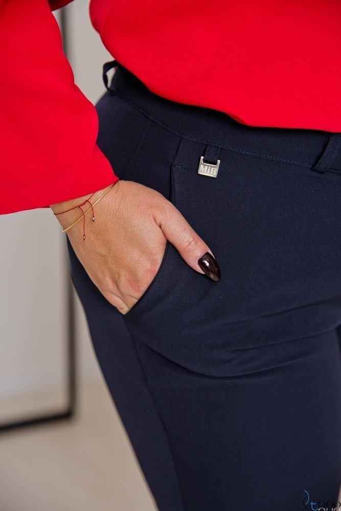 Navy Trousers SETIA Plus Size