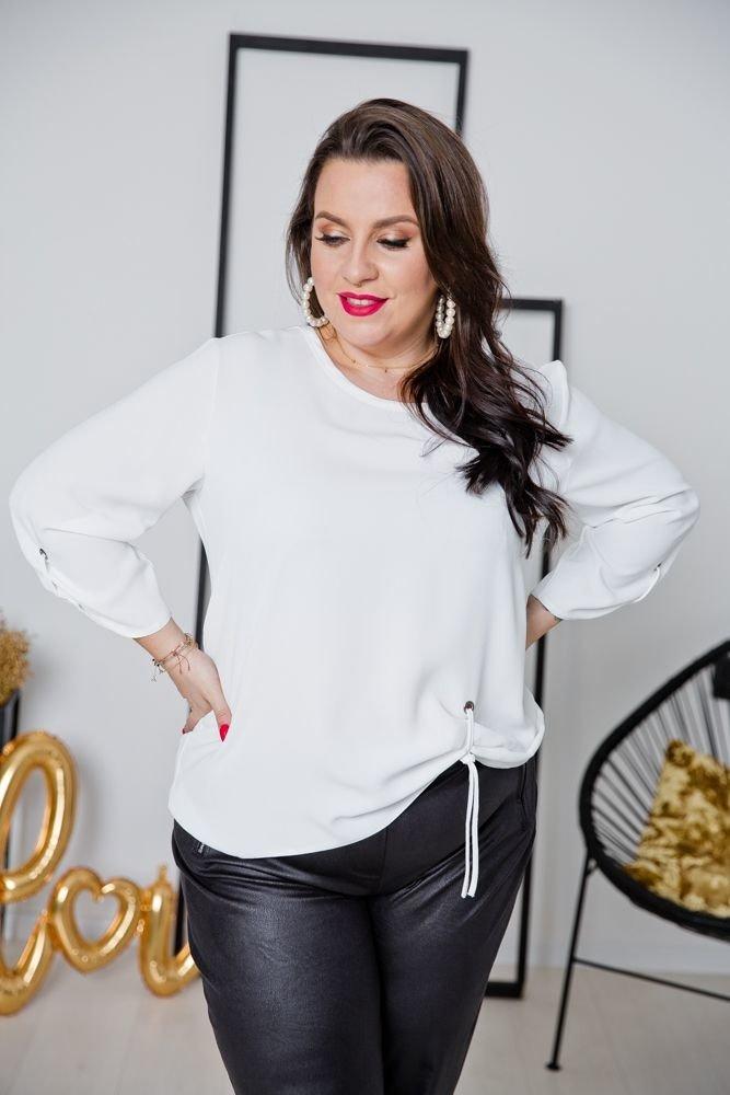 Biała Bluzka LOVIA Plus Size