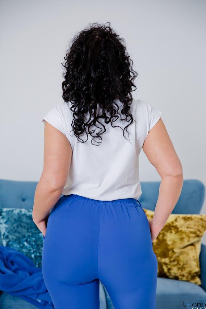 Biała Bluzka WONDER Plus Size