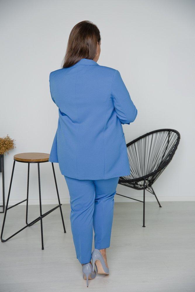 Błękitny Garnitur SZERA Plus Size