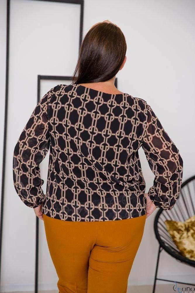 Bluzka FONDATA Plus Size Wzór 4