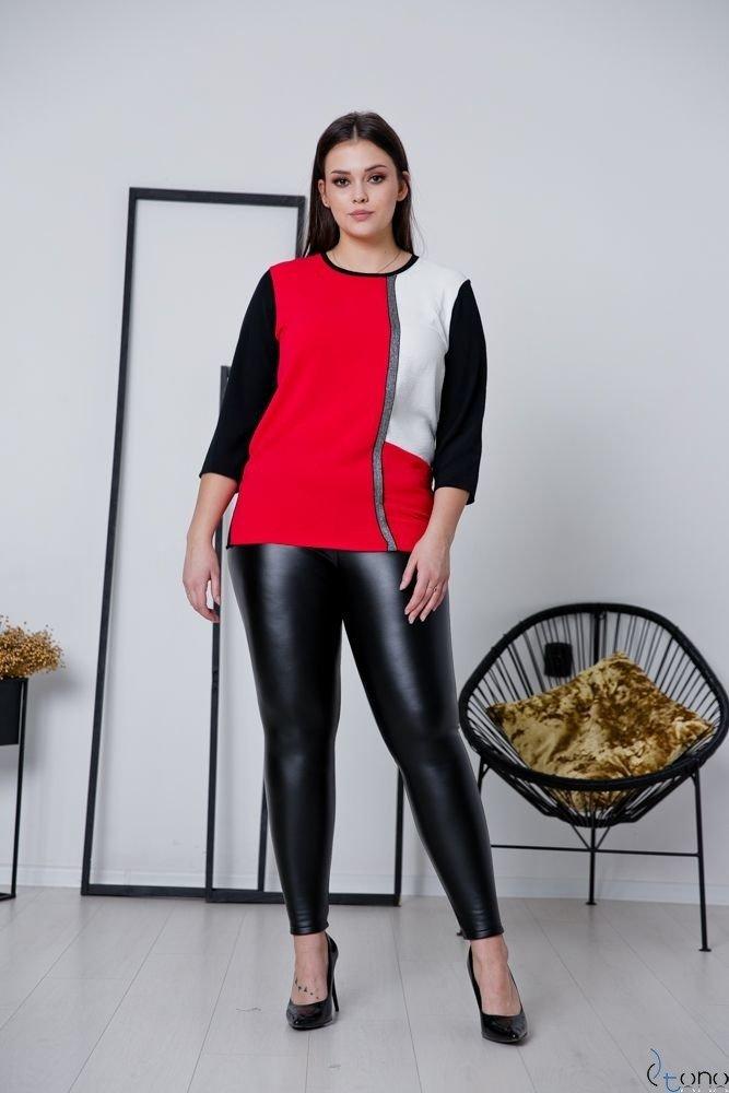 Bluzka MELAN Plus Size Wzór W2