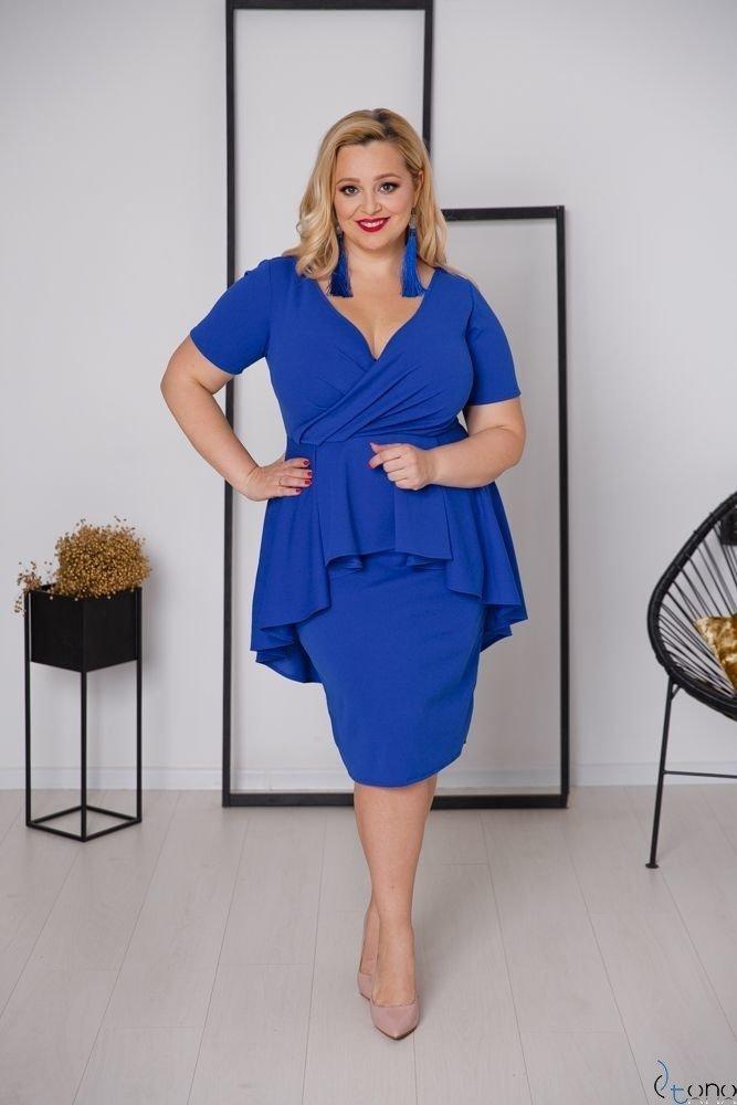 Chabrowa Sukienka BASKINA Plus Size
