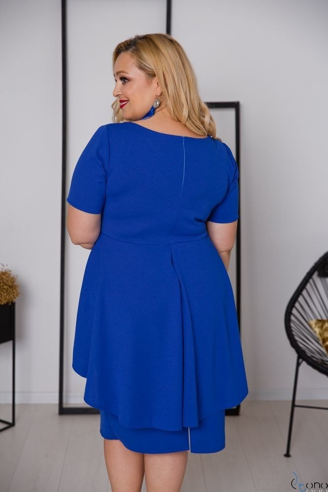 Chabrowa Sukienka BASKINA Plus Size