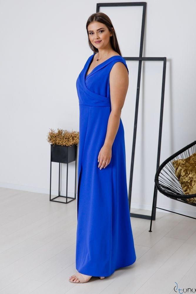 Chabrowa Sukienka BEATRIZ Plus Size Maxi