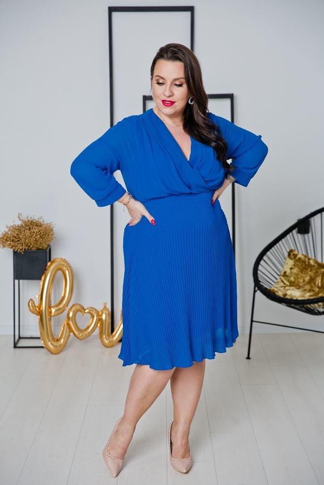 Chabrowa Sukienka ESTIVA Plus Size