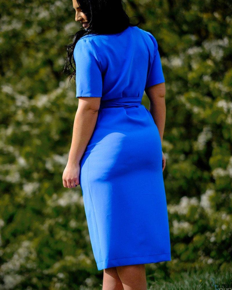 Chabrowa Sukienka FERRITA Plus Size