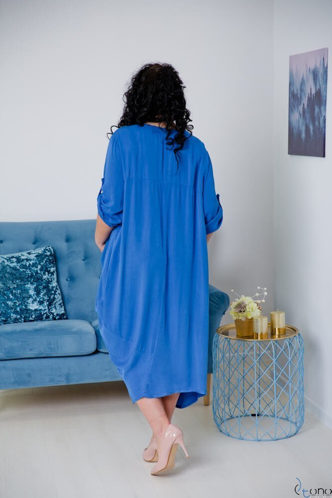 Chabrowa Sukienka SAJANA Plus Size