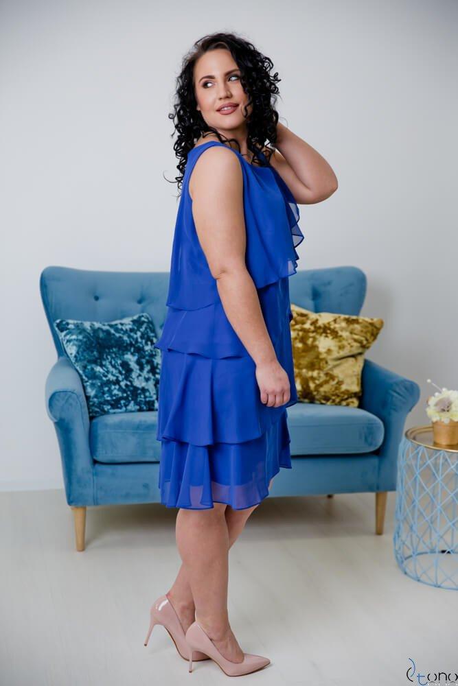 Chabrowa Sukienka SUZIE Plus Size