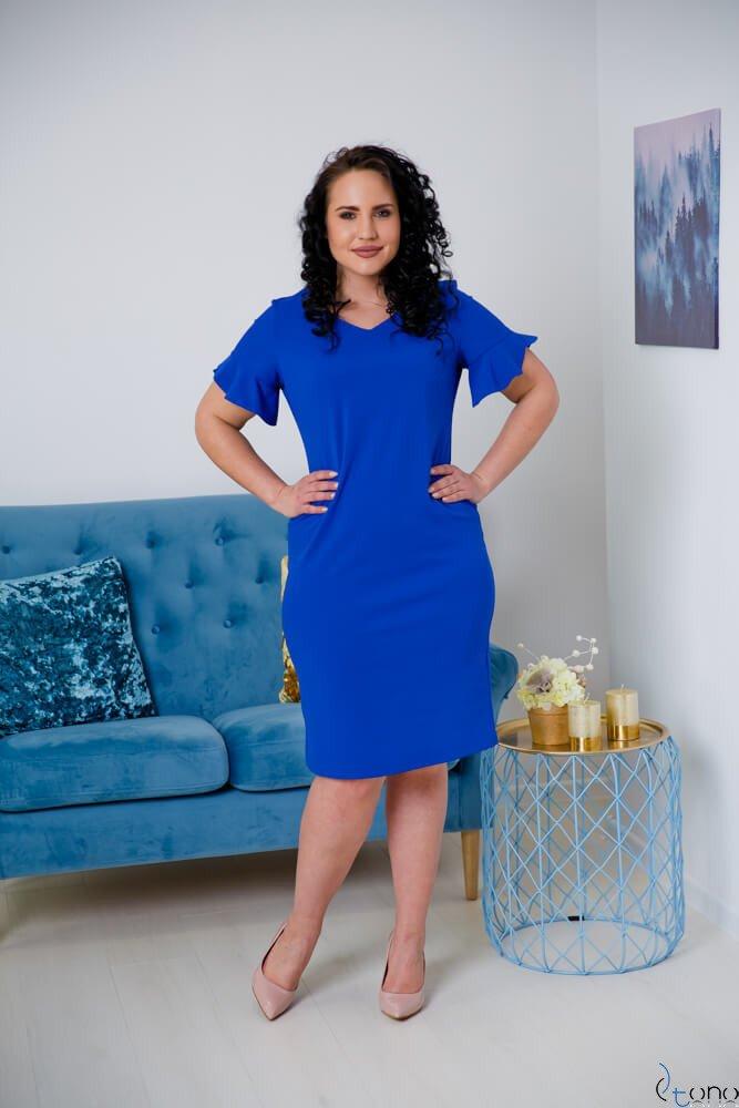 Chabrowa Sukienka VELMA Plus Size