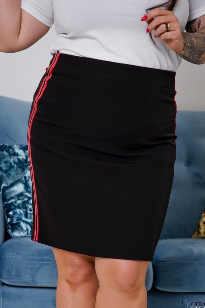 Czarna Spódnica MAGINA Plus Size