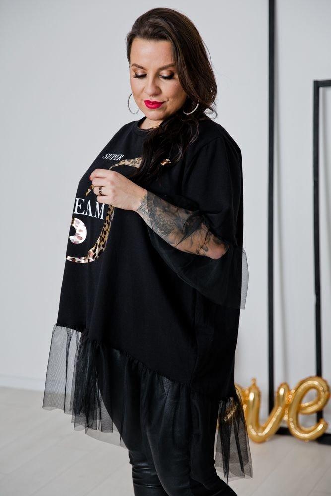 Czarna Tunika DREAM Plus Size