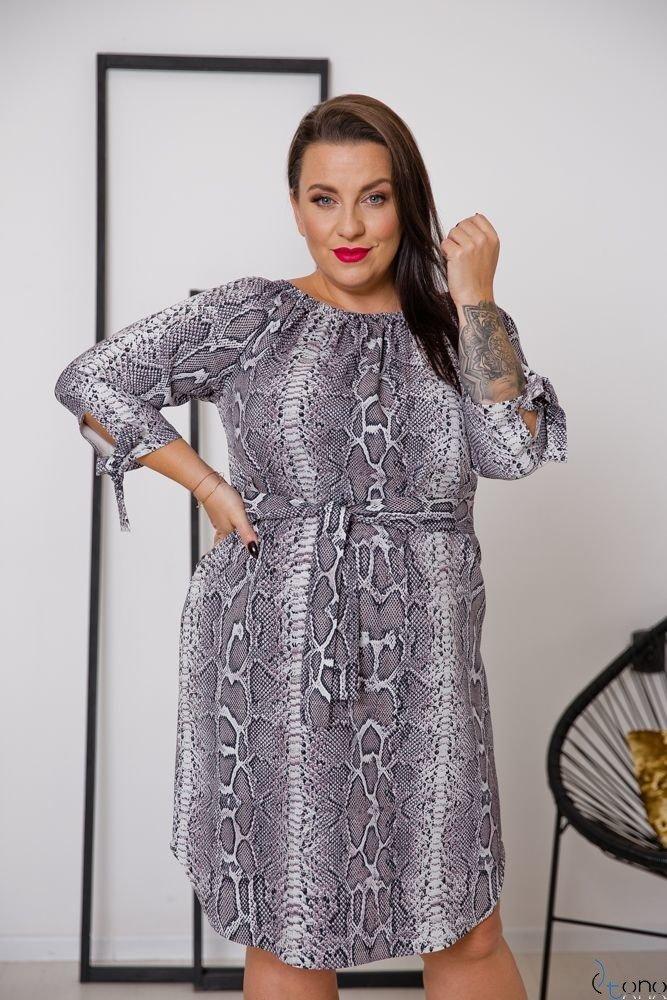 Sukienka AVERIA Plus Size Wzór 2