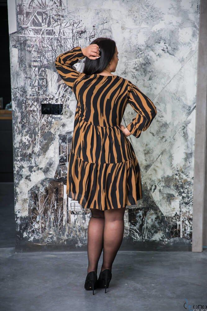 Sukienka BRANO Plus Size wzór 4