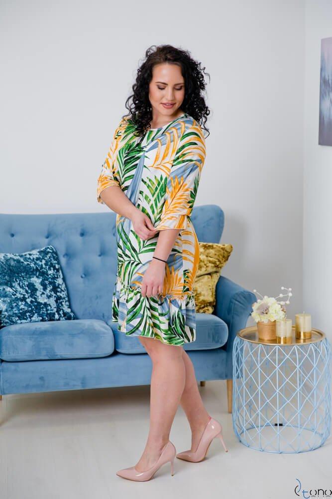 Sukienka CAPRI Plus Size Wzór 2