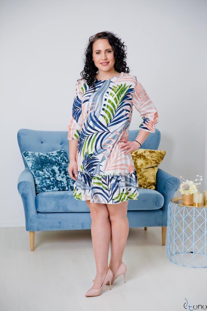 Sukienka CAPRI Plus Size Wzór 3