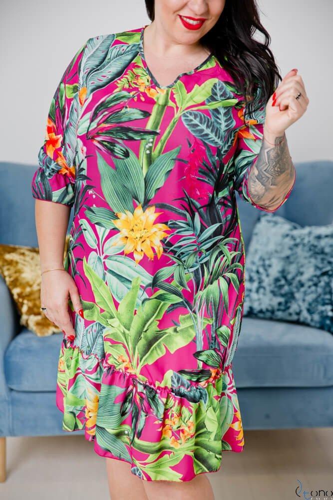 Sukienka CAPRI Plus Size Wzór 5