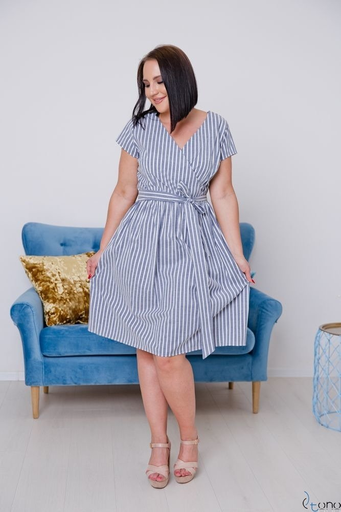 Sukienka CORTEZIA Plus Size Wzór 1