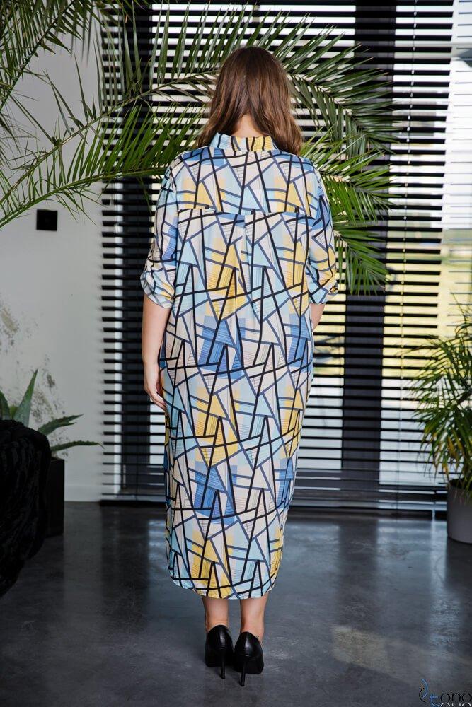 Sukienka CRONACA Plus Size Wzór 1