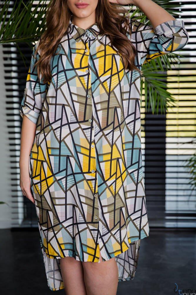 Sukienka CRONACA Plus Size Wzór 2