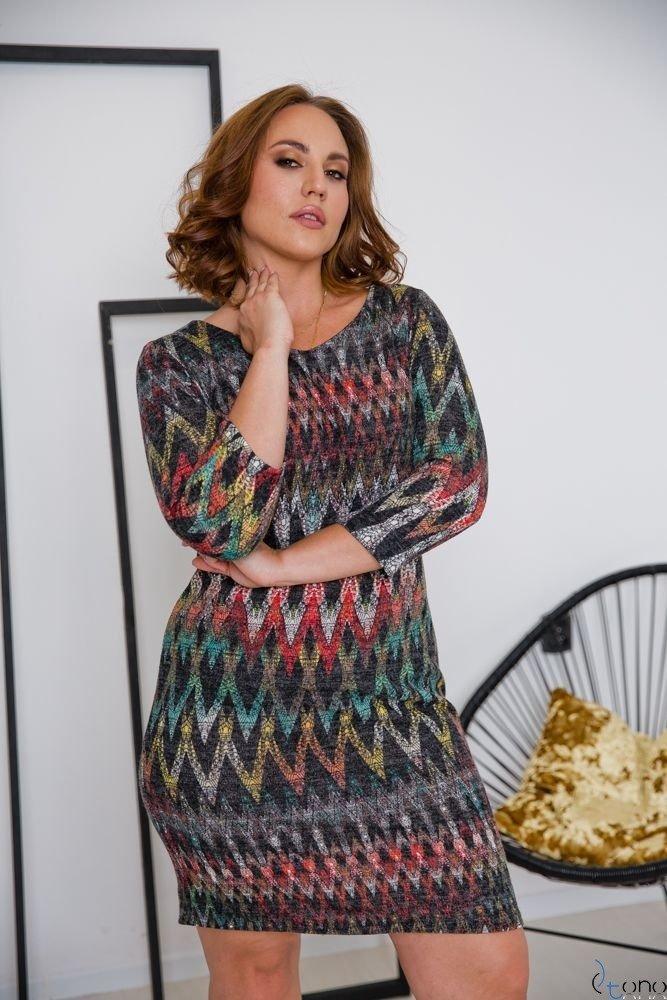 Sukienka DAFNY Plus Size Wzór 4