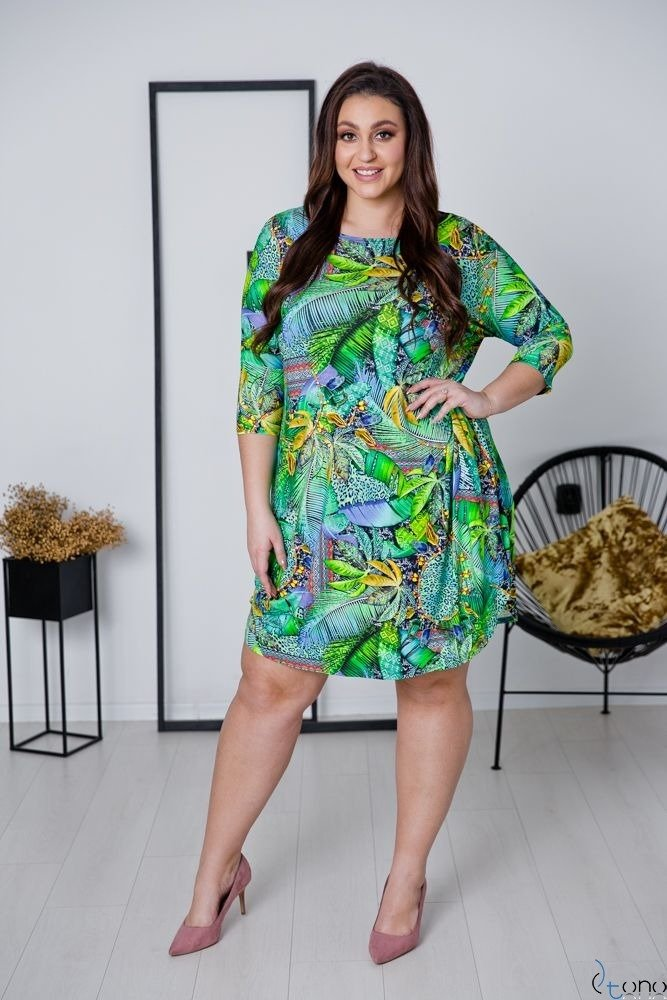 Sukienka EGZOTEA Plus Size