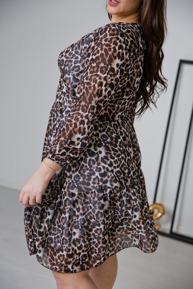 Sukienka ERANA Plus Size Wzór 2