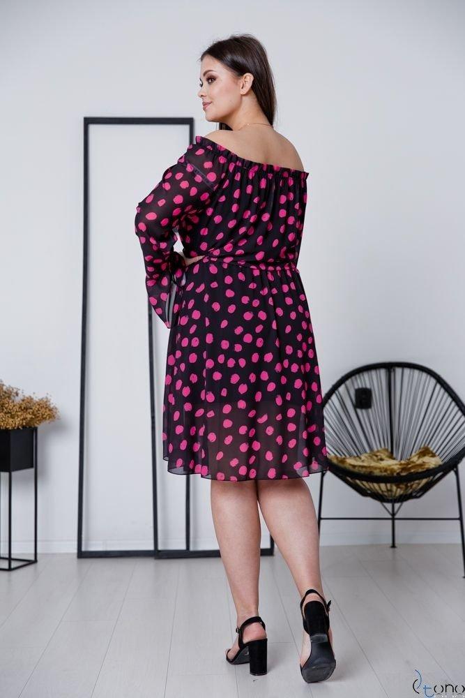Sukienka EVITA Plus Size Wzór 2