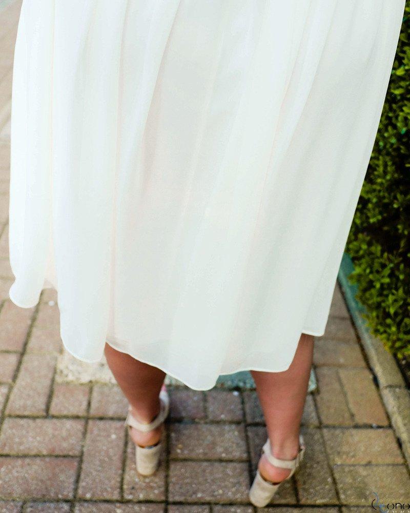 Sukienka Ecru ALMIRA Plus Size