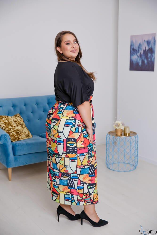 Sukienka FAVORITA Plus Size Wzór 2