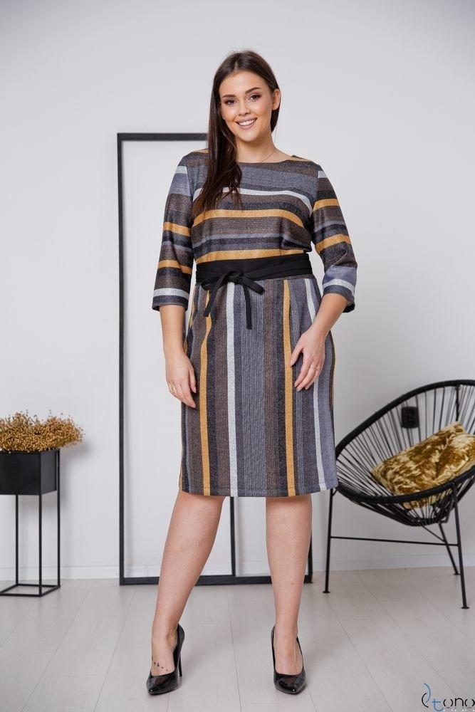 Sukienka LARIZ Plus Size Wzór 7