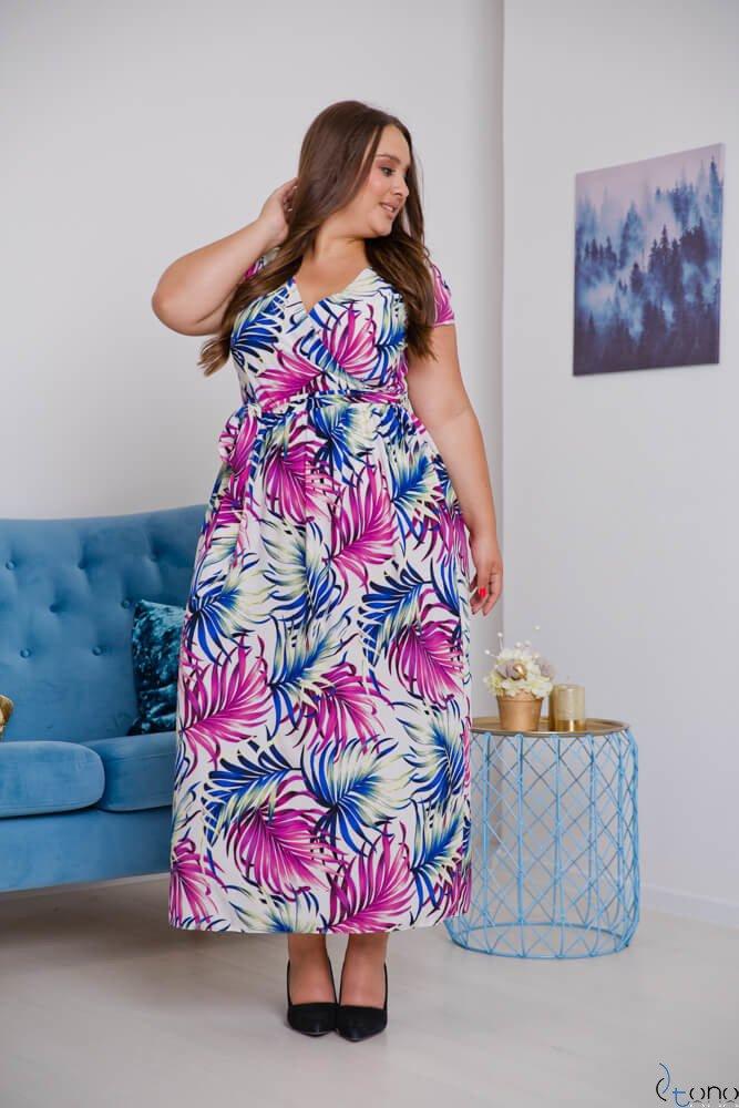 Sukienka MERILLA Plus Size Wzór 1