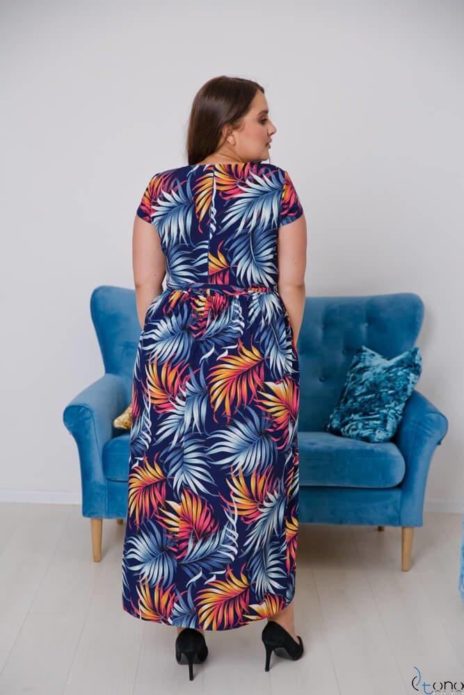 Sukienka MERILLA Plus Size Wzór 2