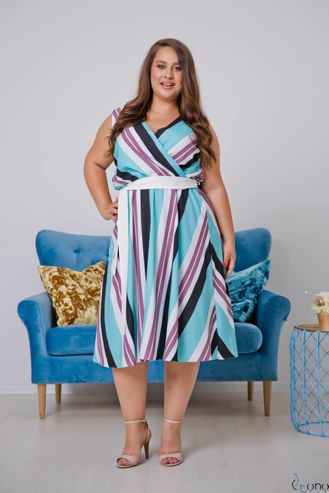 Sukienka PASMIRA Plus Size Wzór 2