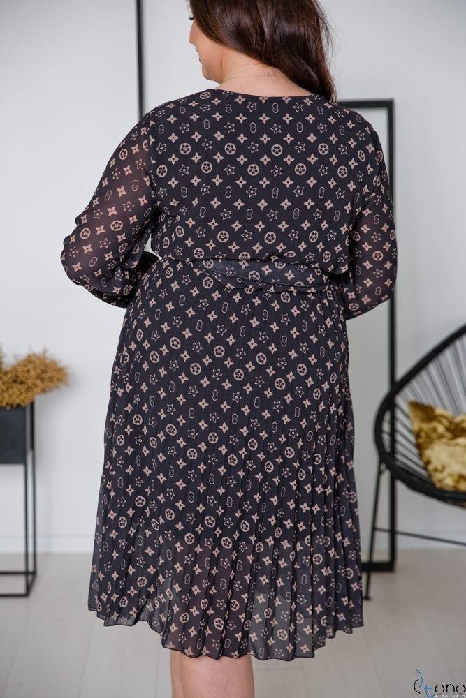 Sukienka PELLINA Plus Size Wzór 5