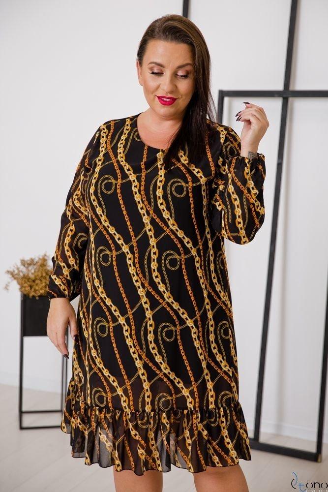 Sukienka PIRI Plus Size Wzór 2