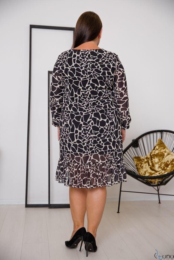 Sukienka PIRI Plus Size Wzór 3