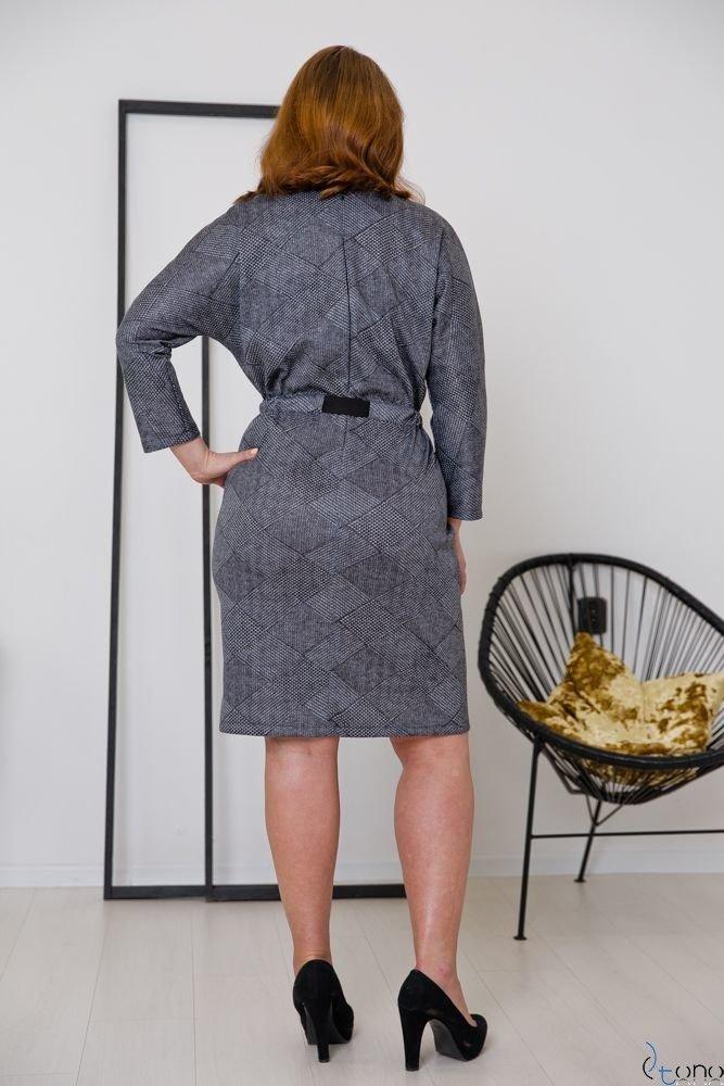 Sukienka PROMETTA Plus Size Wzór 4